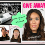 ♥ MAKEOVER + DINAIR AIRBRUSH KIT, ANYONE?? ♥
